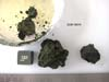 DOM 08010 Meteorite Sample Photograph Showing Sample Splits