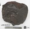 LAR 06252 Meteorite Sample Photograph Showing Bottom View