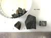 MIL 07560 Meteorite Sample Photograph Showing Sample Splits