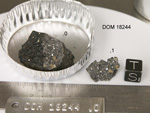 Lab Photo of Sample DOM 18244