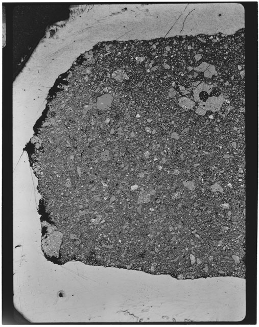 Thin Section photograph of Apollo 11 sample(s) 10021,0