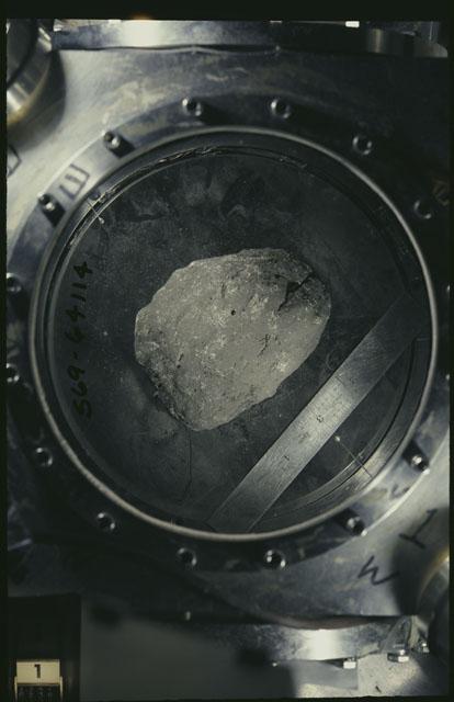 Color Processing photograph of Apollo 12 Sample(s) 12005,0.