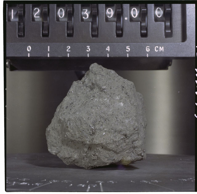 Color Processing photograph of Apollo 12 Sample(s) 12039,0.