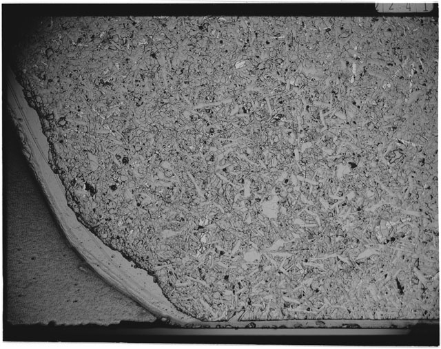Black and white Thin Section photograph of Apollo 12 Sample(s) 12051,55.