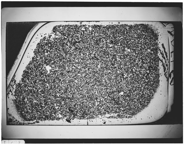 Black and white Thin Section photograph of Apollo 12 Sample(s) 12051,53.