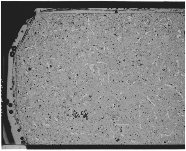 Black and white Thin Section photograph of Apollo 12 Sample(s) 12051,59.