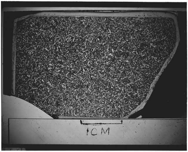 Black and white Thin Section photograph of Apollo 12 Sample(s) 12051,56.