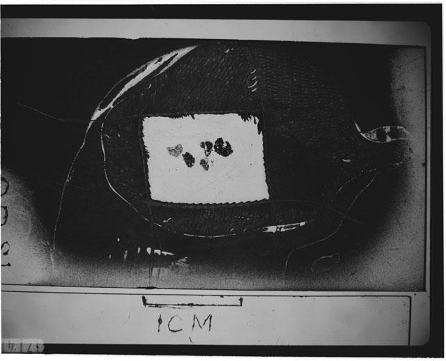 Thin section photograph of Apollo 12 sample 12001,0.