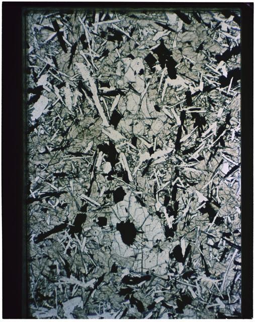 Thin Section photograph of Apollo 11 sample(s) 10021,40