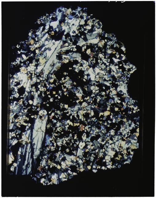 Thin Section photograph of Apollo 11 sample(s) 10046,47