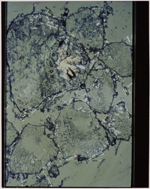 Thin Section photograph of Apollo 11 sample(s) 10085,10