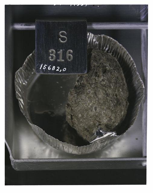 Rake Sample Photograph of Apollo 15 Sample(s) 15682