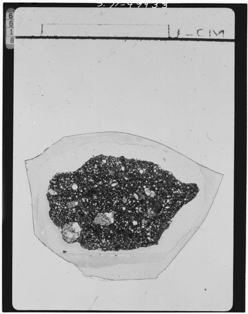 Thin Section Photograph of Apollo 15 Sample(s) 15426,19