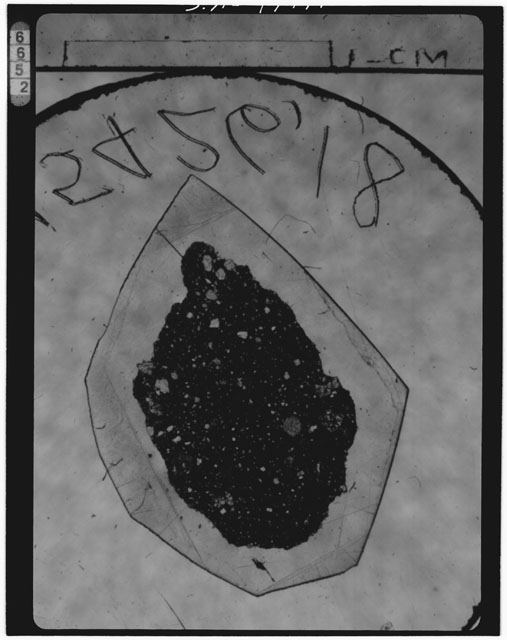 Thin Section Photograph of Apollo 15 Sample(s) 15426,18