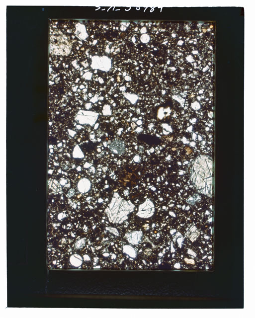 Thin Section Photograph of Apollo 15 Sample(s) 15426