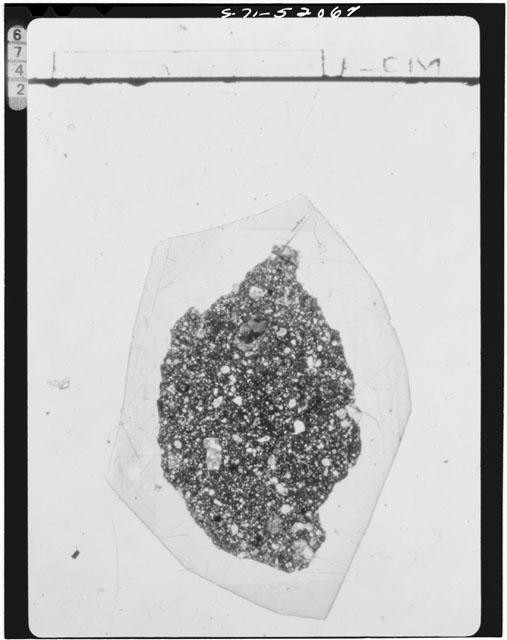Thin Section Photograph of Apollo 15 Sample(s) 15426,20
