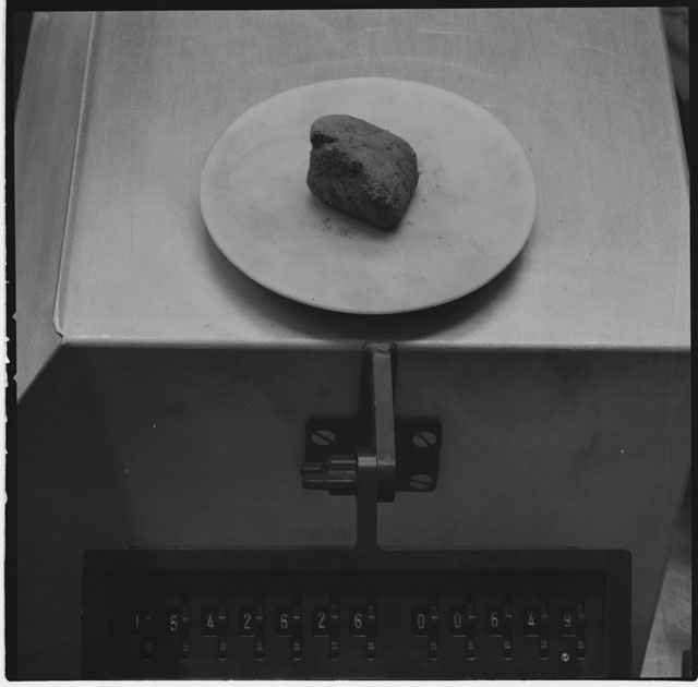 Inventory Photograph of Apollo 15 Sample(s) 15426,26