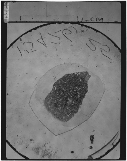 Thin Section Photograph of Apollo 15 Sample(s) 15426,25