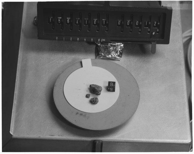Inventory Photograph of Apollo 15 Sample(s) 15641,01
