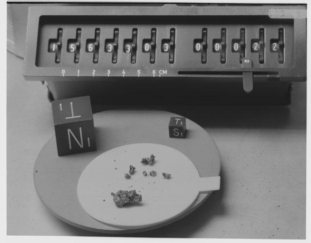 Inventory Photograph of Apollo 15 Sample(s) 15633,3