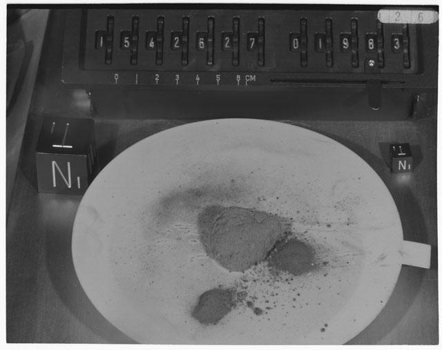 Inventory Photograph of Apollo 15 Sample(s) 15426,27