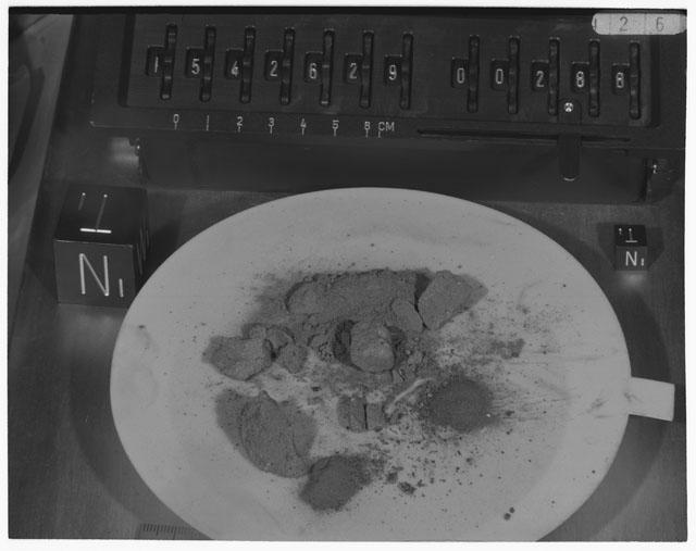 Inventory Photograph of Apollo 15 Sample(s) 15426,29