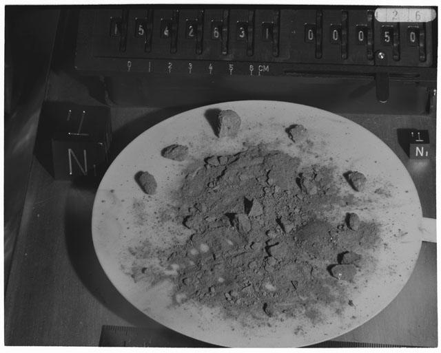 Inventory Photograph of Apollo 15 Sample(s) 15426,31