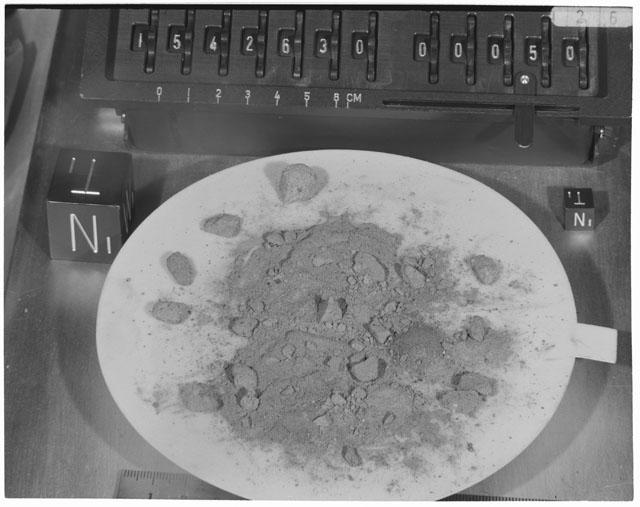 Inventory Photograph of Apollo 15 Sample(s) 15426,30