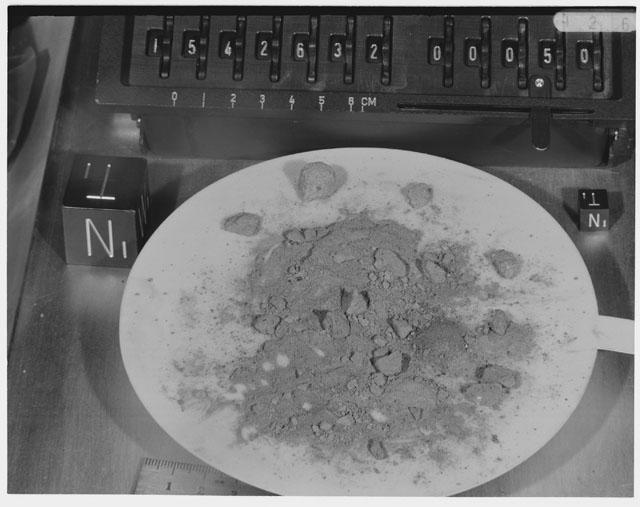 Inventory Photograph of Apollo 15 Sample(s) 15426,32