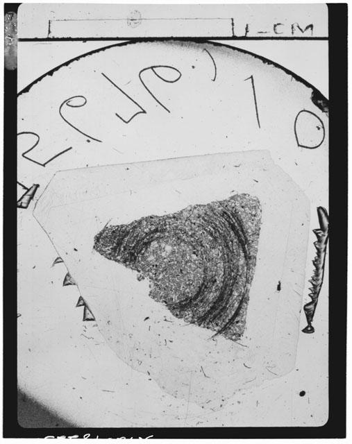 Thin Section Photograph of Apollo 15 Sample(s) 15676,10