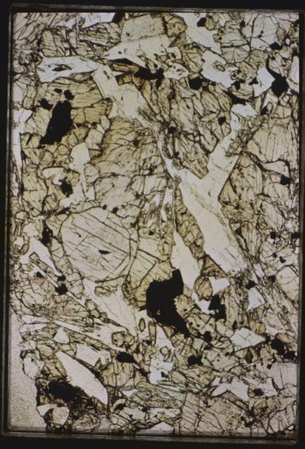 Thin Section Photograph of Apollo 15 Sample(s) 15663,11