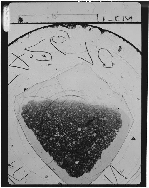 Thin Section Photograph of Apollo 15 Sample(s) 15426,70