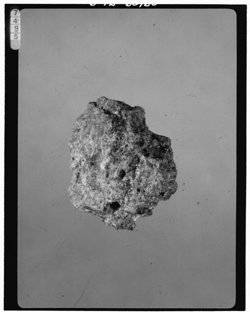 Thin Section Photograph of Apollo 15 Sample(s) 15105,2