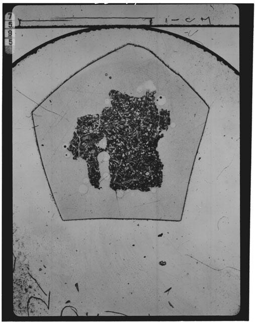 Thin Section Photograph of Apollo 15 Sample(s) 15105,5