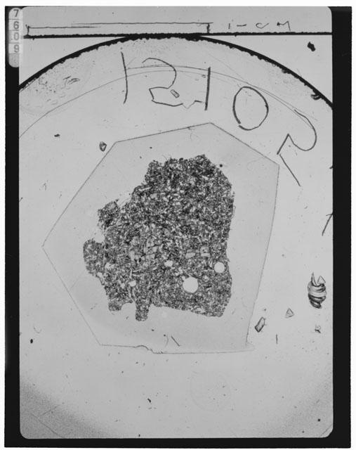 Thin Section Photograph of Apollo 15 Sample(s) 15105,6