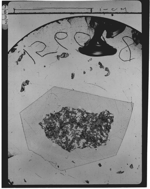 Thin Section Photograph of Apollo 15 Sample(s) 15607,8