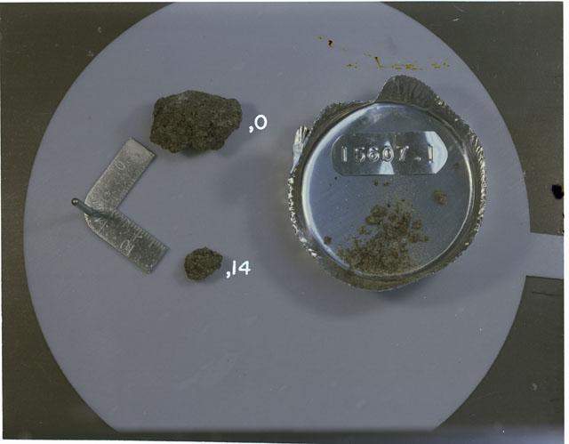 Rock Reconstruction Photograph of Apollo 15 Sample(s) 15607,0,1,14
