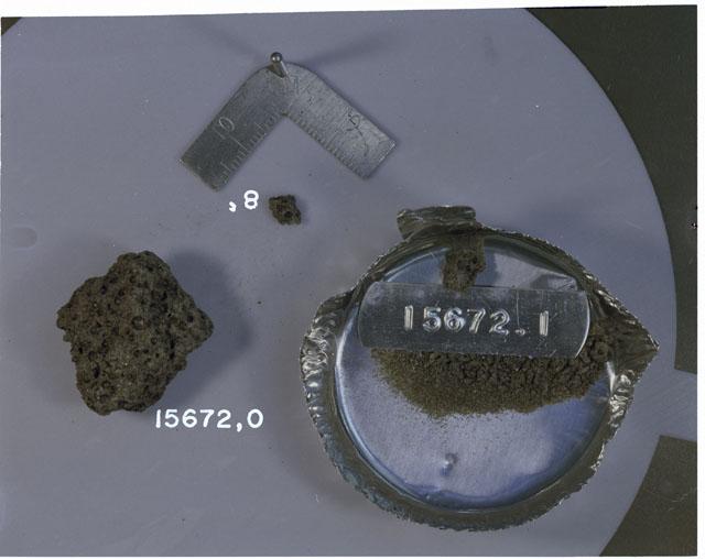 Rock Reconstruction Photograph of Apollo 15 Sample(s) 15672,0,1,8